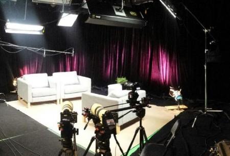 Green Screen Studio 6A - interview set up - Big Apple Studios