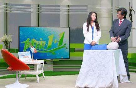 Custome Made Virtual Set - Wide shot Bright set - Health show - Big Apple Studios