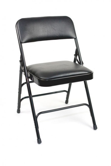 Folding black chair - Big Apple Studios