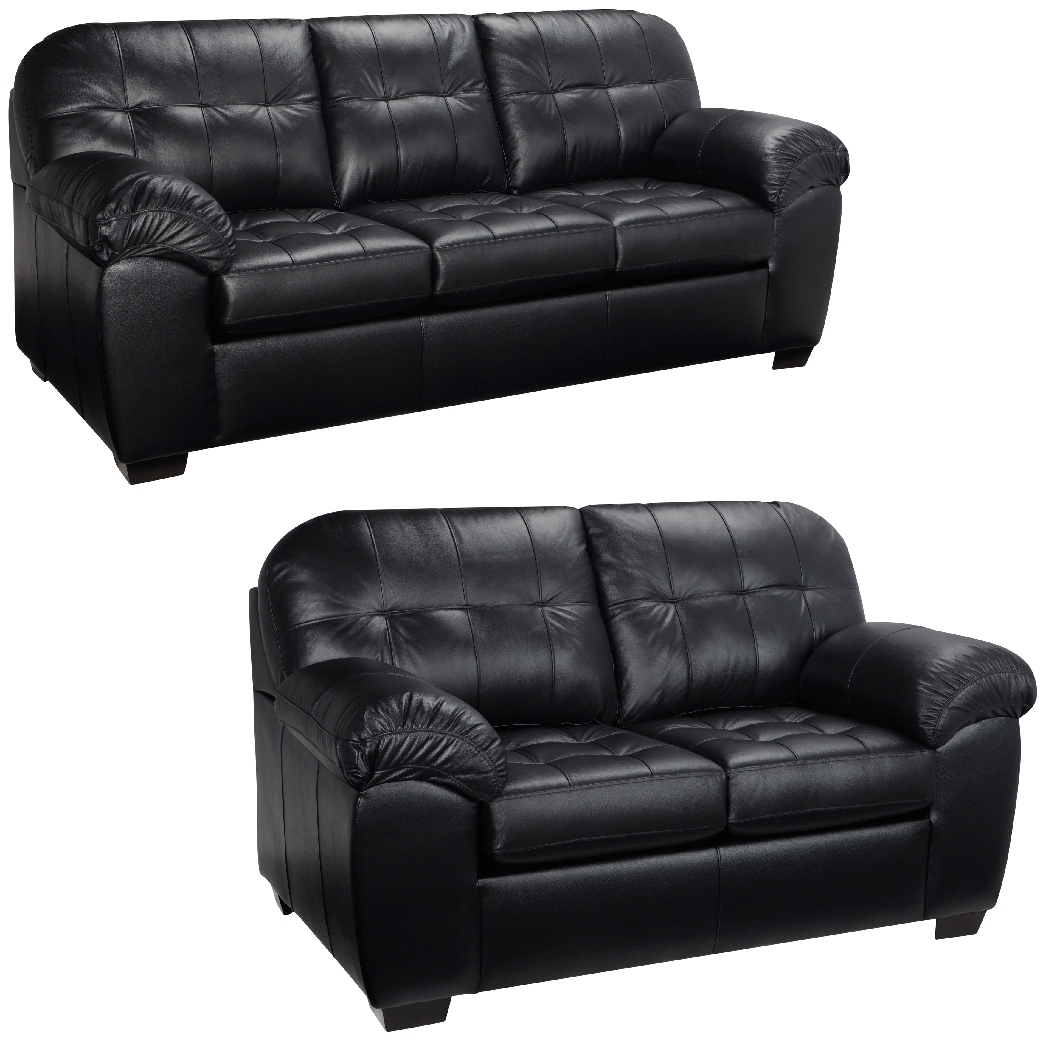 Black Stage Sofa And Loveseat   S