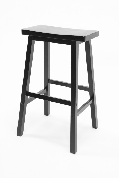 Black Stage Stool - Big Apple Studios - S