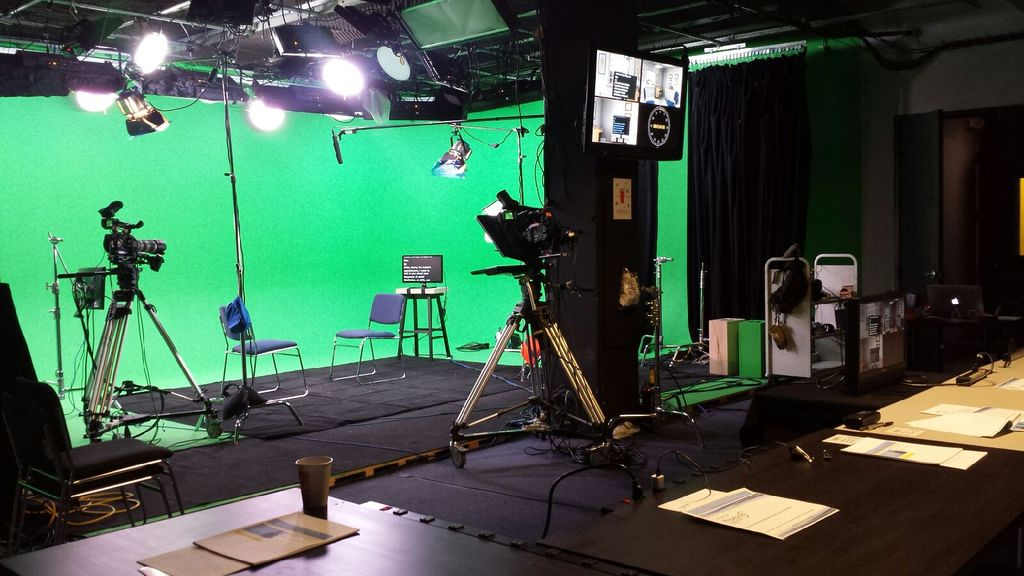 Green screen studio shoot - Big Apple Studios