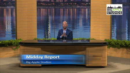 Midday Report Virtual Set- Wide - Big Apple Studios - Thumbnail