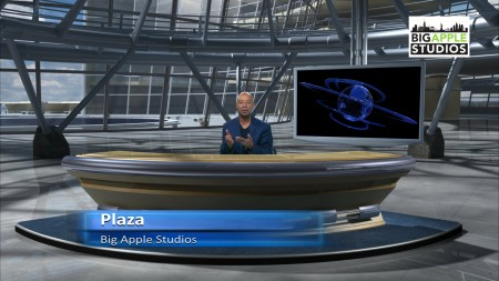 Plaza Virtual Set - Extra Wide - Big Apple Studios - Thumbnail