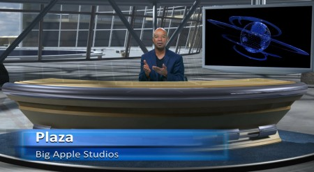 Plaza Virtual Set - Wide - Big Apple Studios - Thumbnail