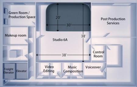 Soundstage Studios 6A - Big Apple Studios